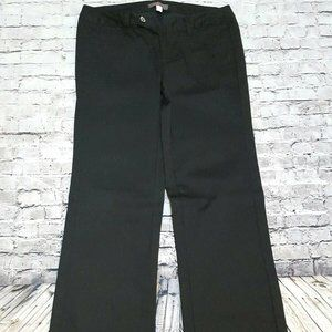 Just Sweet Black Stretch Work Pants Size 25